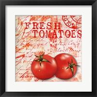 Framed Farmer's Market Tomato