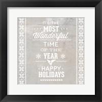 Framed Christmas Text