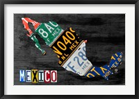 Framed Mexico Done Gray