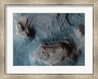 Framed Mesas in the Nilosyrtis Mensae Region of Mars