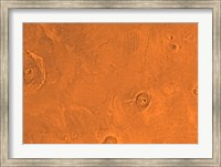 Framed Tharsis Region of Mars