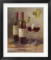 Framed Opening the Wine I