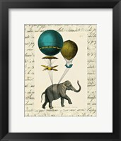 Elephant Ride I Framed Print