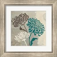 Framed Chrysanthemums II