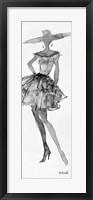 Framed Fashion Sketchbook V