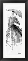Framed Fashion Sketchbook VI