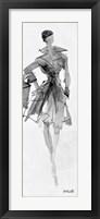 Framed Fashion Sketchbook VII
