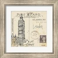 Framed Postcard Sketches II
