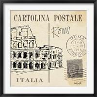 Framed Postcard Sketches IV
