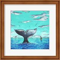 Framed Whale Tail - Better