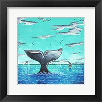 Framed Whale Tail - Better