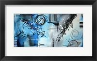 Framed Blue Divinity