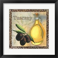 Framed Olive Oil 1