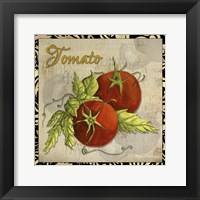 Framed Vegetables 1 Tomatoes