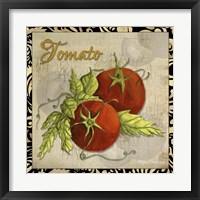 Framed Vegetables 1 Tomatoes