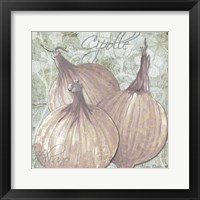 Buon Appetito Red Onions Framed Print