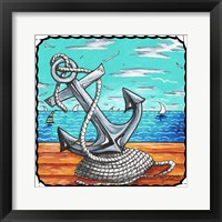 Framed Anchors Away Rope