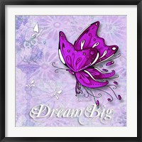 Framed Dream Big