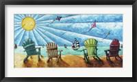 Beach Life II Framed Print