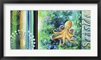 Seaside Sea of Whimsy Framed Print