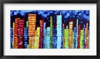 Framed City Nights II