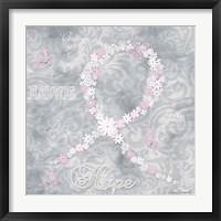 Framed Pink Ribbon 2