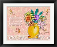 Framed Flower Pot 1