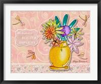 Framed Flower Pot 1