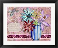 Framed Flower Pot 11