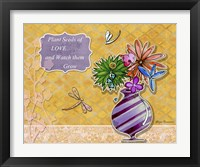 Framed Flower Pot 2