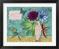 Framed Flower Pot 3