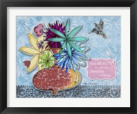 Framed Flower Pot 4