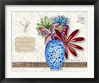 Framed Flower Pot 5