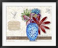 Framed Flower Pot 5