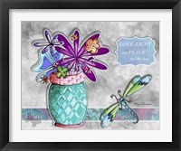 Framed Flower Pot 6