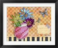 Framed Flower Pot 7