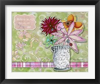 Framed Flower Pot 8