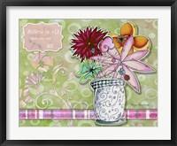 Framed Flower Pot 8