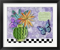 Framed Flower Pot 9