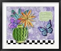 Framed Flower Pot 9
