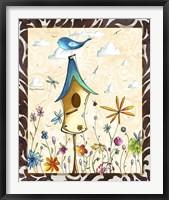 Bird House 1 Framed Print