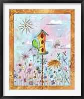 Bird House 3 Framed Print