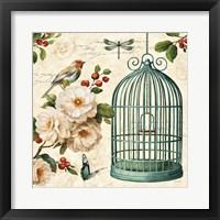 Free as a Bird I Framed Print