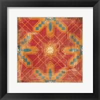 Framed Moroccans Tile II v2