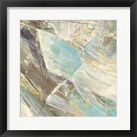 Framed Blue Water I