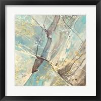 Framed Blue Water II
