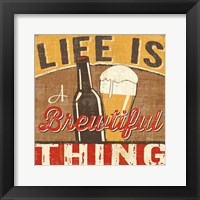 Craft Brew II Framed Print