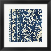Framed Bali Tapestry I