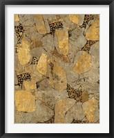 Framed Gilded Stone Gold II