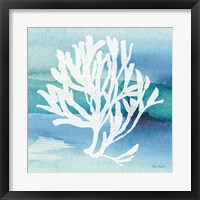 Framed Sea Life Coral I